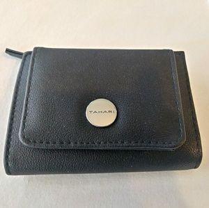 Tahari Small Black Wallet